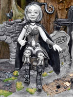 Graveyard guard by Gniffies