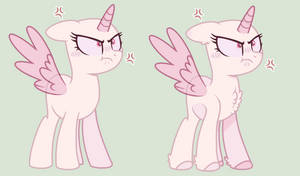 :: Mlp Base :: Smol Angry Bean by Nocturnal-Moonlight