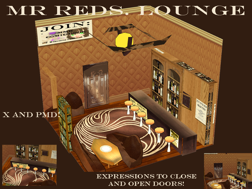 [MMD DOWNLOAD] BAR STAGE by Rooboid