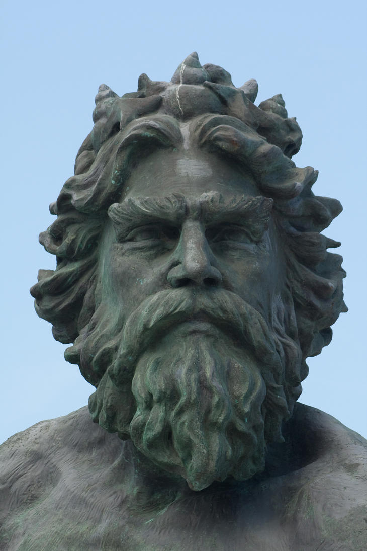 Poseidon Face Statue Images & Pictures - Becuo