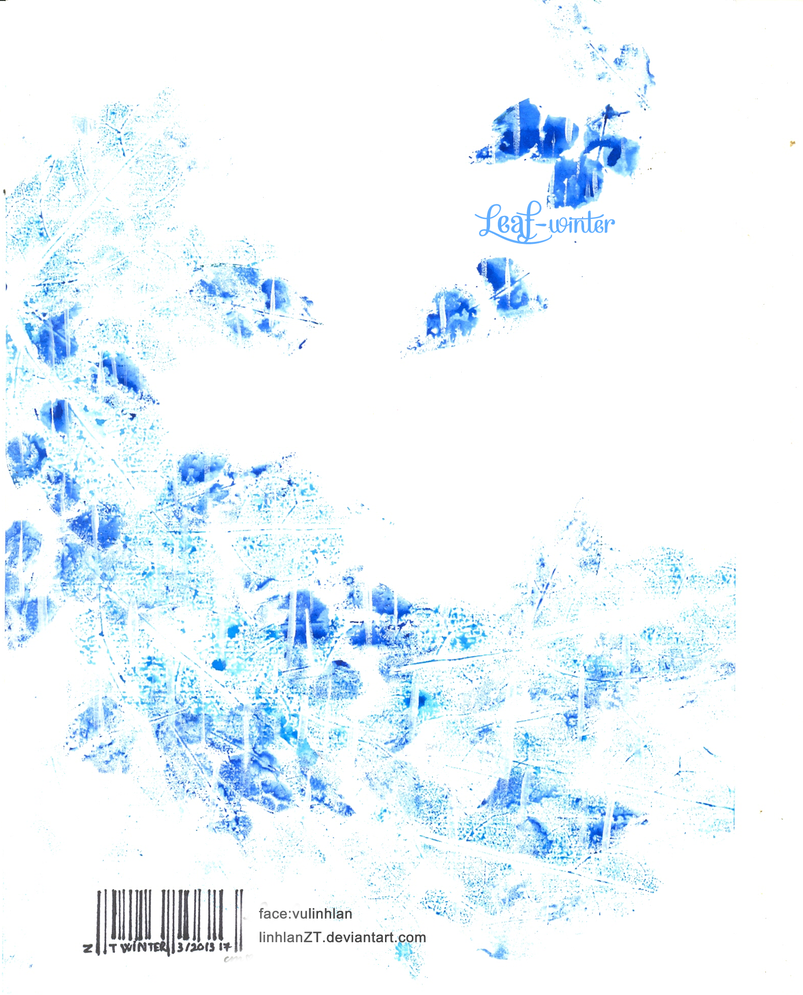 [Gallery] Convallaria Majalis  Leaf_winter_by_linhlanzt-d5yfr2n