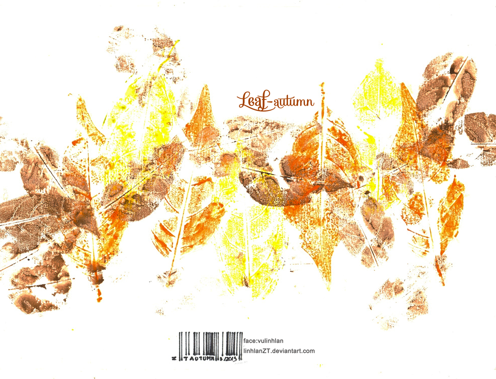 [Gallery] Convallaria Majalis  Leaf_autumn_by_linhlanzt-d5zb4tw