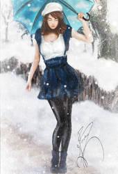 When Snow Falls by Kin-Tsuki