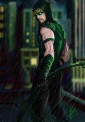 Green Arrow by Kin-Tsuki