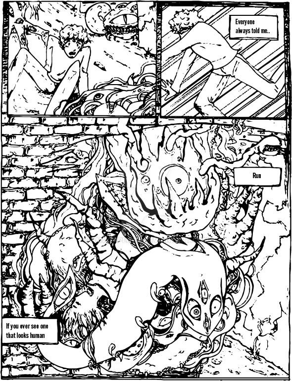 NightWalker Page 1 by AMoonPeach