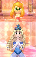 [Miitopia!] Princess Lillie by Sapphire-M