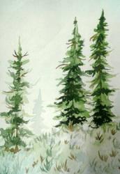 Happy Little Trees