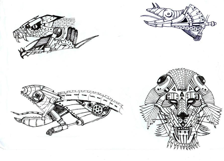 mechanical animals by zerogradi on deviantart