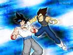 Goku Jr x Vegeta Jr