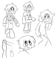 [not ATG5] Day 4 - Various Doodles of Citrine