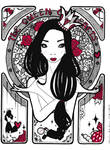 The Queen of Hearts by Marimeri