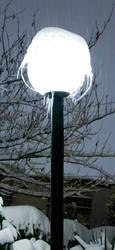 Solo Frozen Lamp Post by rantmedia