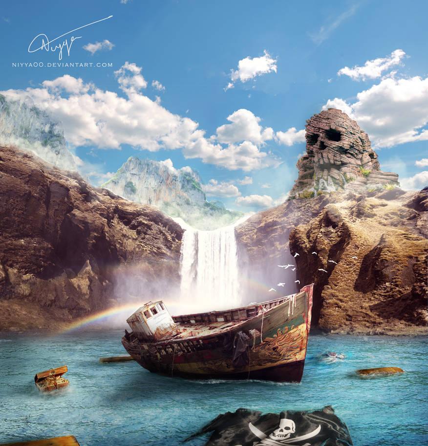 The Mysterious Island by niyya00