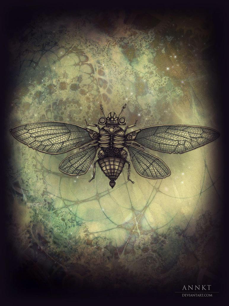 steampunk scarab by AnnKT