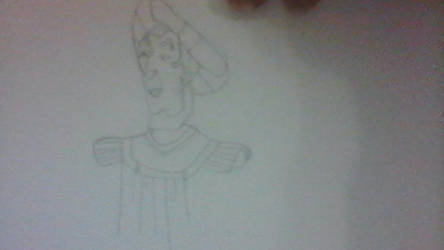 Judge Claude Frollo with a book.