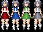 Kisekae Gradient Dresses