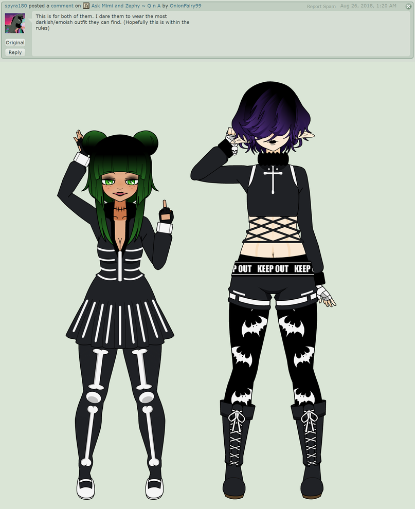 emo goth difference