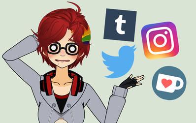 ~MY SOCIAL MEDIA ACCOUNTS~ by OnionFairy99