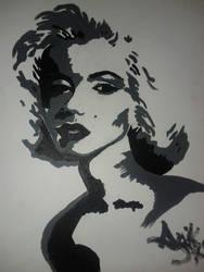 Marilyn Monroe by AnikaStewart