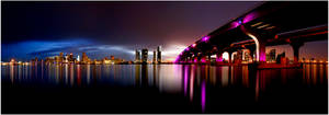 Miami Panorama by Spankcdd