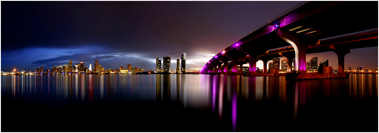 Miami Panorama by Spankcdd