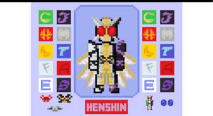 Kamen Rider Double Sprite Flash by CometComics on  by Sashabox
