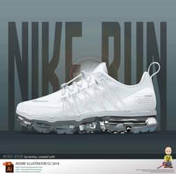 Nike Run Vector