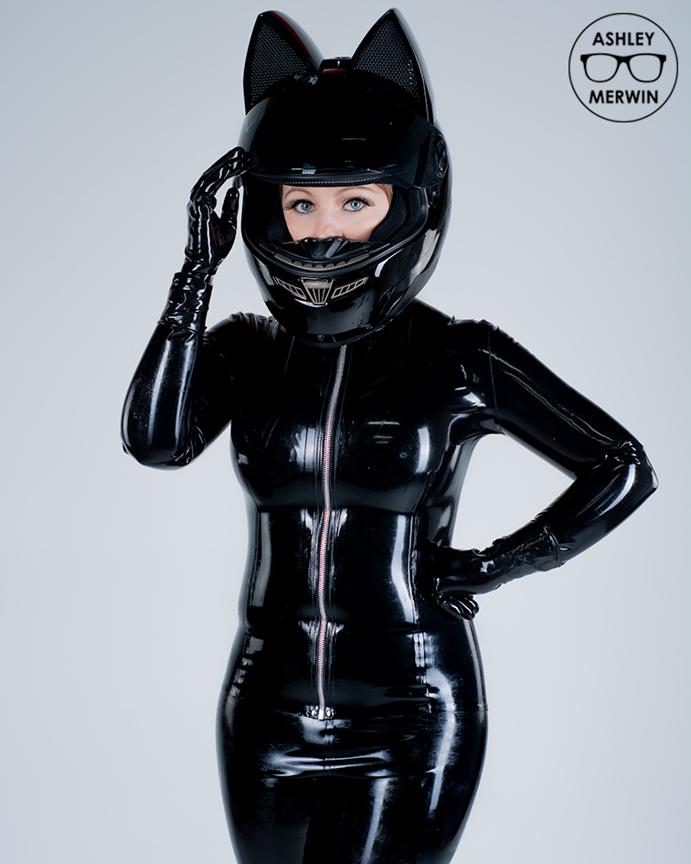 Latex Kitty Cat Ashley Merwin