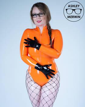 Ashley Merwin - Latex Bodysuit and Gloves