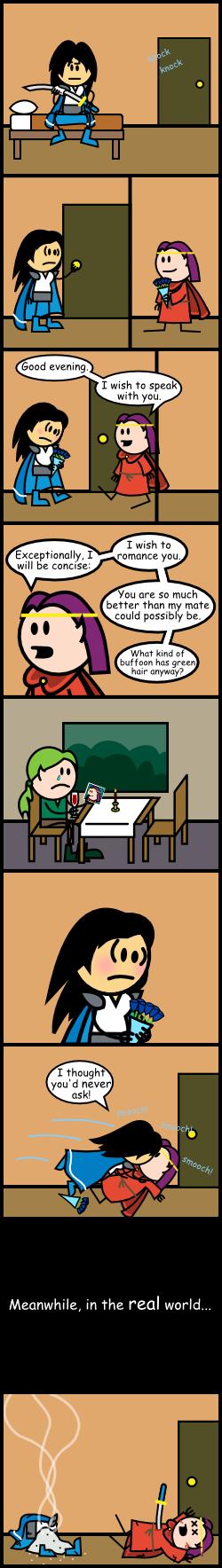 OotS comic 3 by DarkFaun