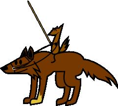 Murphy's Law - Weasel Knight by DarkFaun