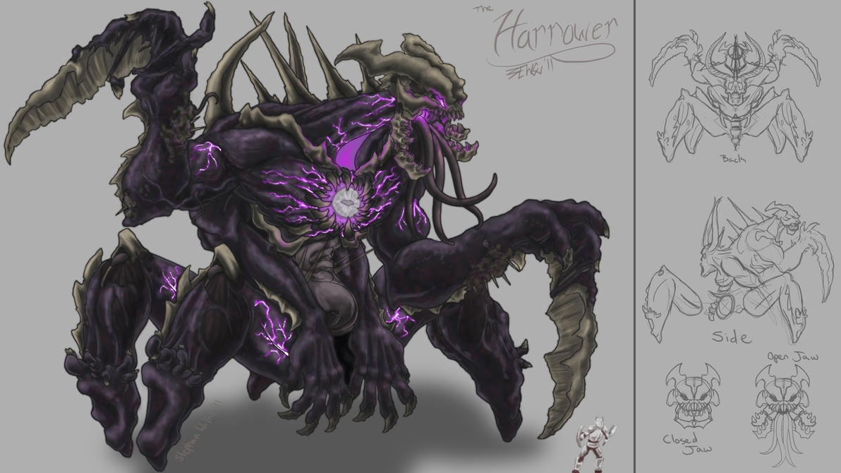 Death Colossus :The Harrower: by Zeknox