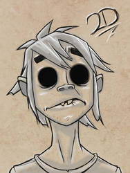 2D Sketch Bust by Zeknox