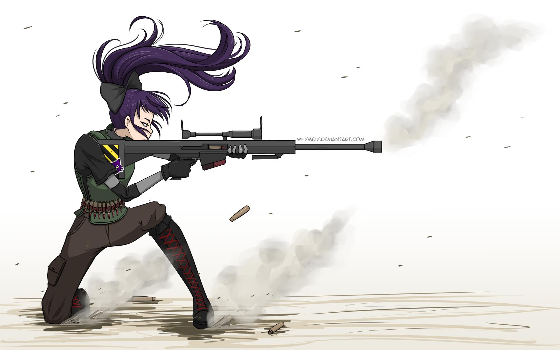 Sniper girl by whymeiy on deviantart - Anime sniper girl ...