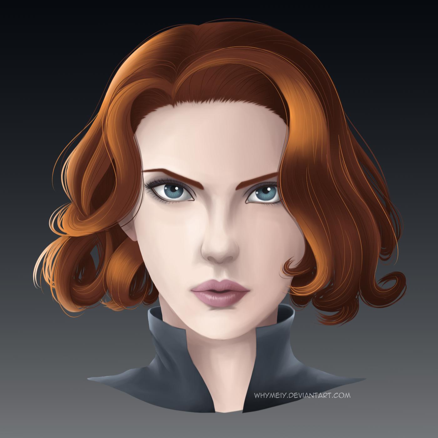 Black Widow by whymeiy