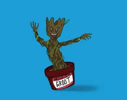 I AM GROOT by Javott
