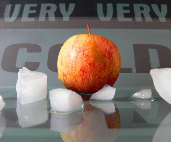 Apple Iceberg by senzo