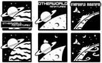 Otherworld logo brainstorming