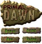 Primal dawn game logo