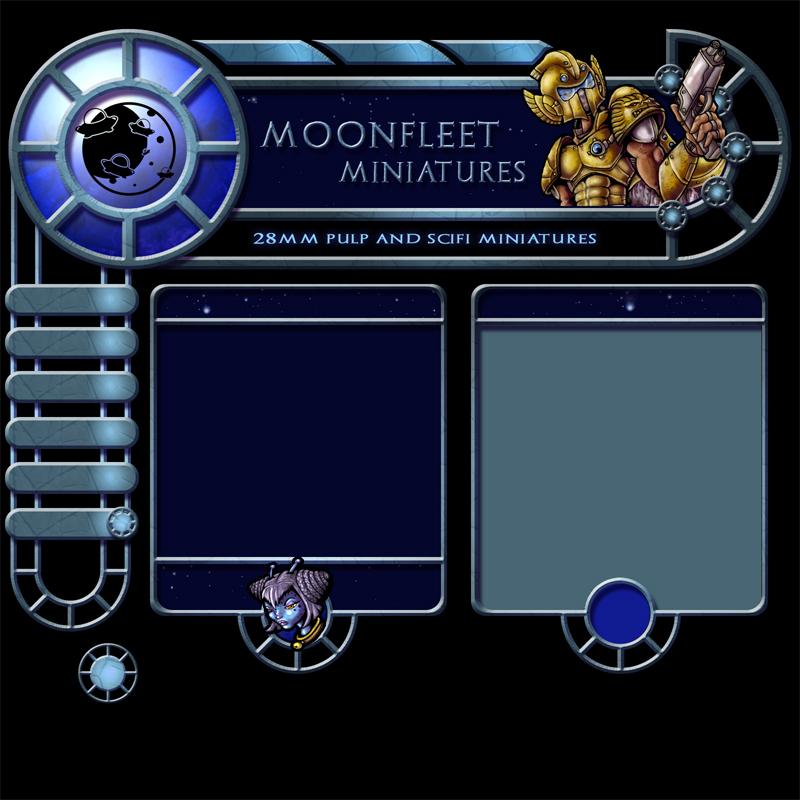 Moonfleet webdesign by melvindevoor