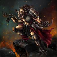 Ravager Alpha by melvindevoor