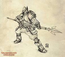 Dragonblood  Conquistadore by melvindevoor