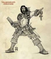 Dragonblood priest by melvindevoor