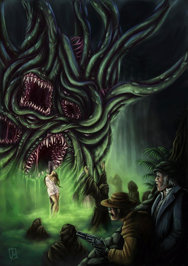 Cosmic Horror cover by melvindevoor