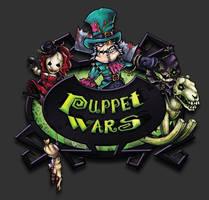 Puppet wars logo by melvindevoor