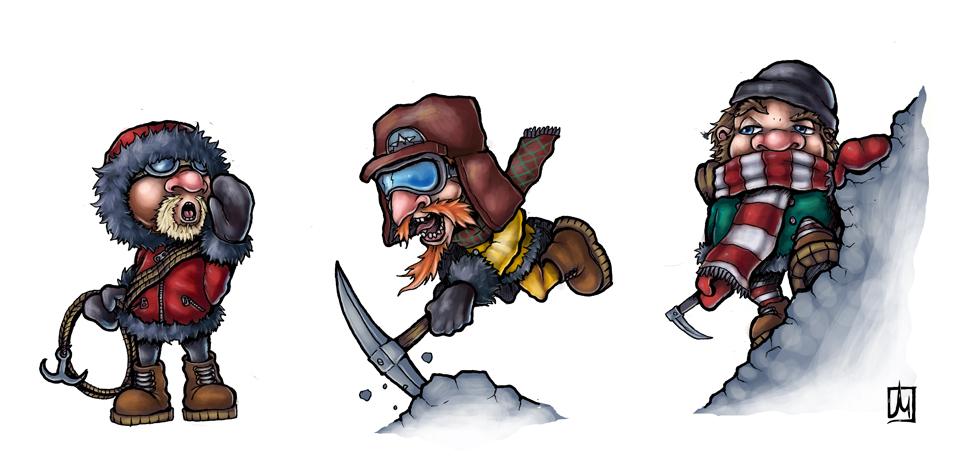 OBR Mountaineers by melvindevoor