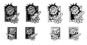 Zombiespiele verlag Logo by melvindevoor