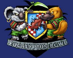 Eucalyptus Bowl logo by melvindevoor