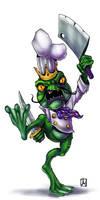 Frogman cook by melvindevoor