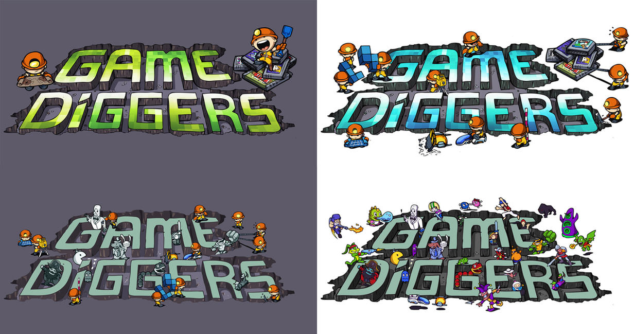 Game diggers logo by melvindevoor
